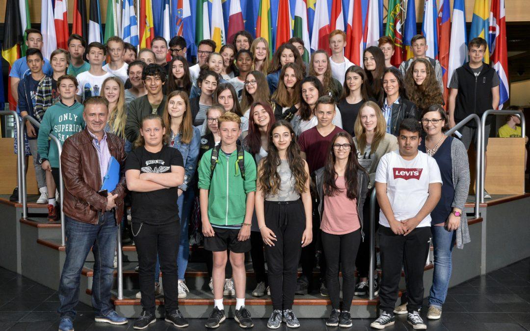 Besuch beim Europaparlament in Strasbourg