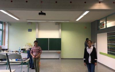 Renovierung des Klassensaals der 6.1