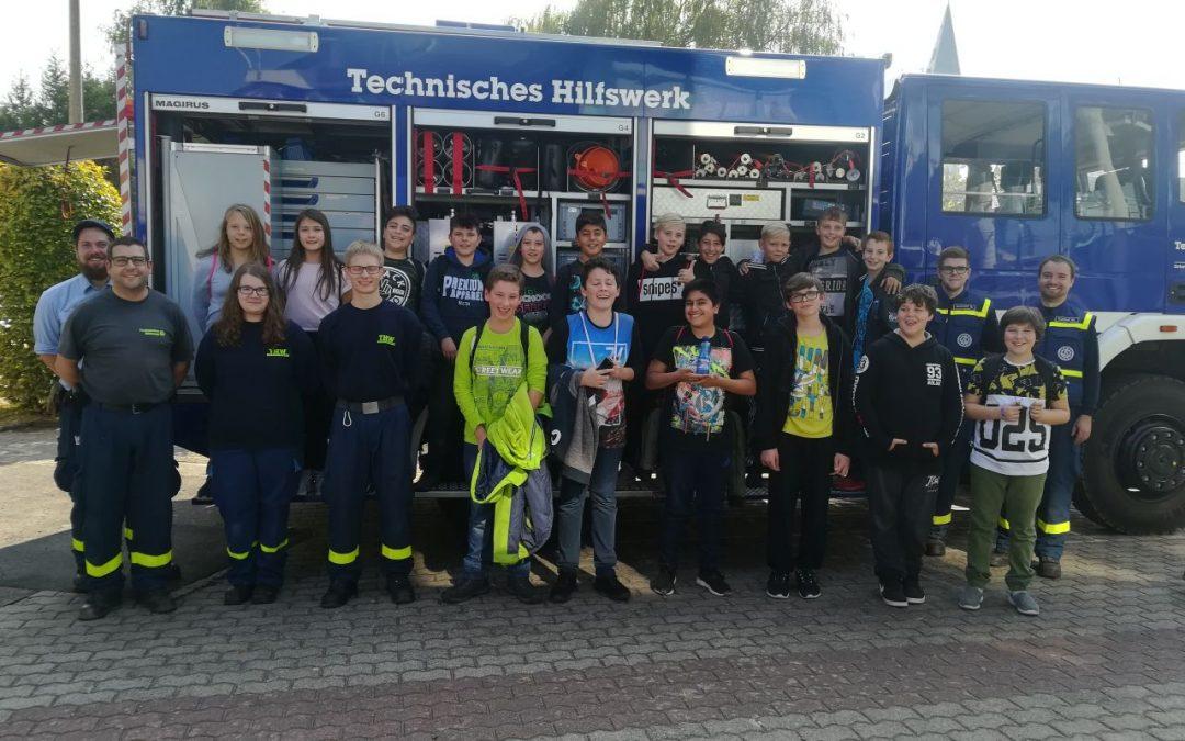 Einblick in die Projektwoche: THW Saarwellingen besucht JGS