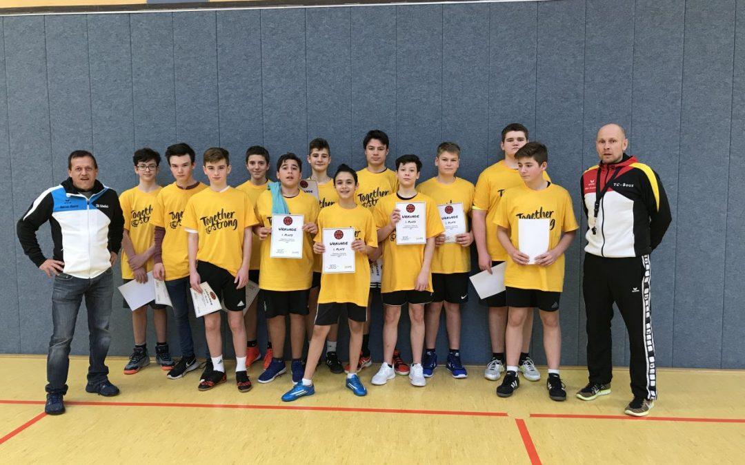 1. Platz im Basketballturnier