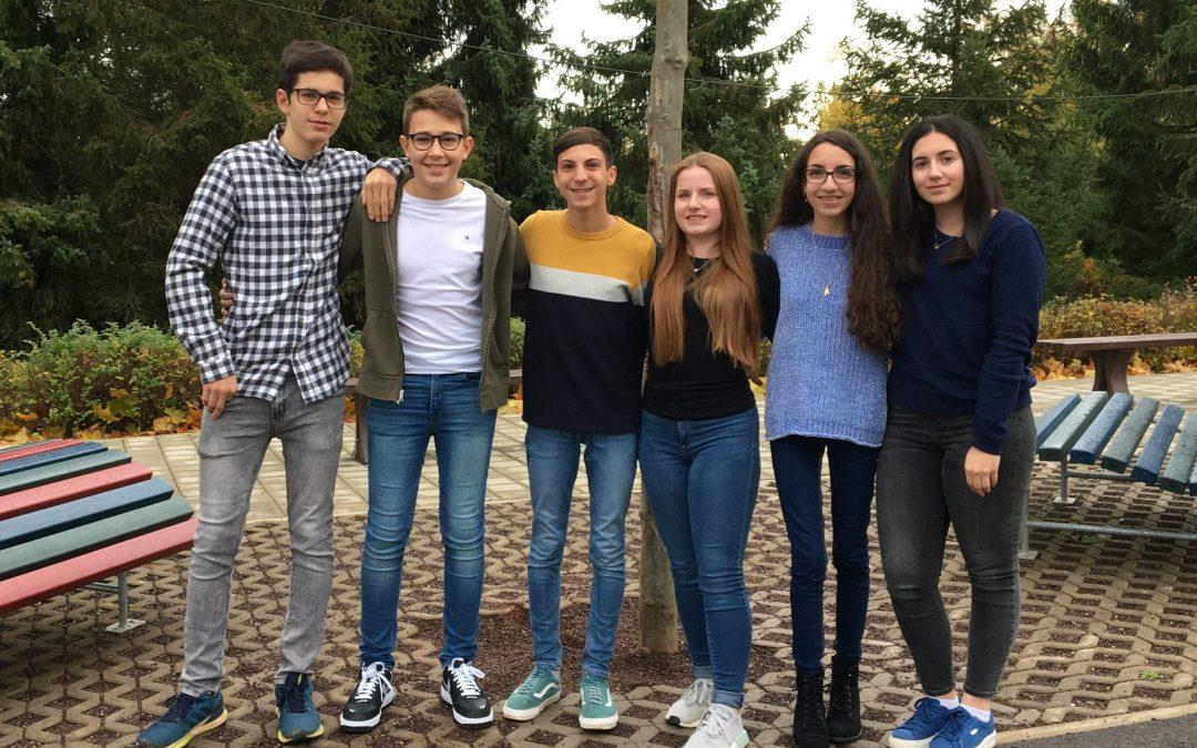 Johannes- Gutenberg- Schule spendet 1400 Euro für den Spendenmarathon von RTL